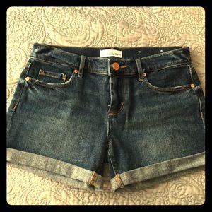 LOFT size 00 denim shorts